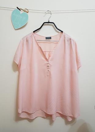 Роскошная нежно розовая блуза yessica