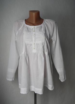 Хлопковая блуза zara
