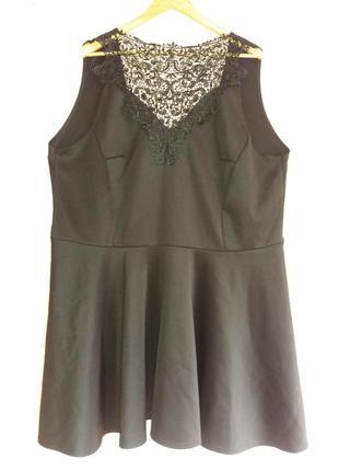 Шикарное платье миди 60 размера