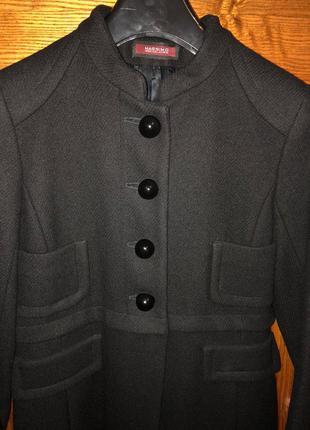 Пальто massimo collezione шерсть xs-s