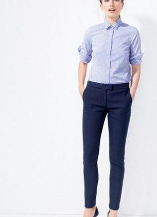 Стильные укороченные брюки от zara