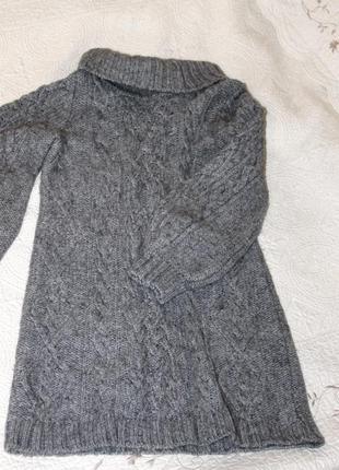 Шерстяное платье sisley