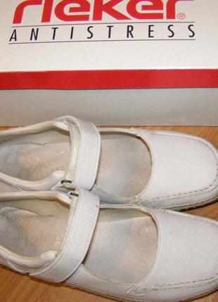 Туфли, мокасины rieker antistress