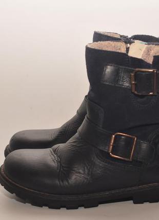 Кожаные ботинки3