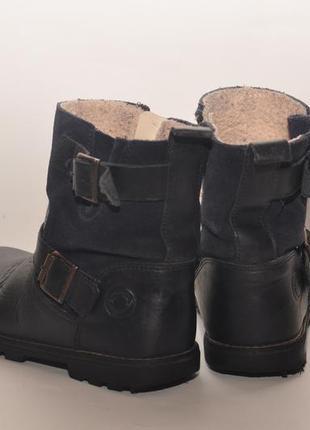 Кожаные ботинки4