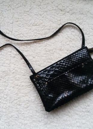 Фирменная сумка клатч / кросс боди / кошелек clarks