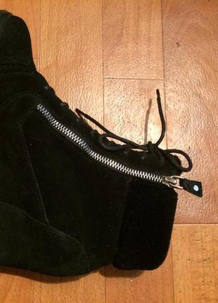 Зимние ботинки на платформе antonio biaggi