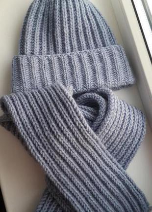 Трендовая шапка наборы hand made
