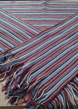 Большой яркий шарф, 196х28