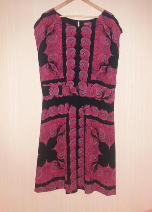Шикарное платье миди 54 размера