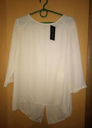 Легкая блузка р. uk 12 new look