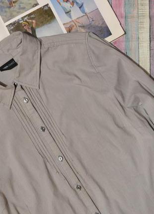 Классическая меланжевая рубашка michele boyard