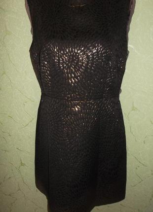 Стильное платье тренд  вечернее спинка открыта диско - love label- р l