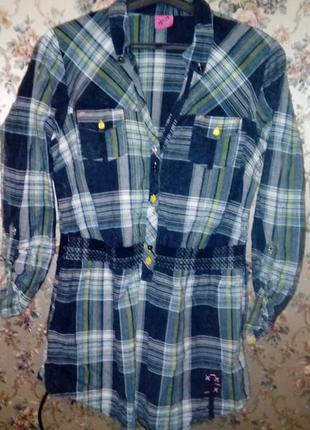 Супер рубашка-туника george