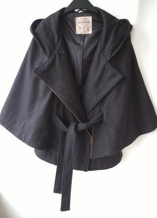 Пальто летучая мышь пончо от  pull&bear размер s