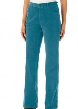 Charles voegele/комфортные вельветовые брюки от швейцарского бренда+подарок