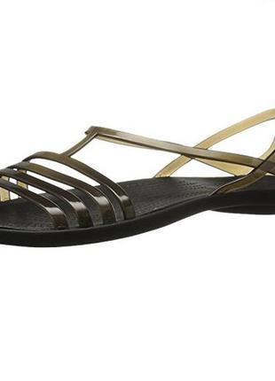 Балетки crocs isabella flat sandal раз. w5 - 22,5см