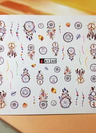 Наклейки для ногтей , дизайн маникюра