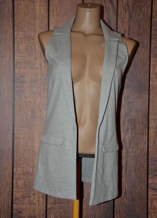 Кардиган - пиджак без пуговиц f&f