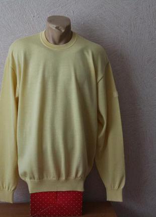 Marz, натур. джемпер, свитер, пуловер, швейцария, р.xl-xxl, оригинал
