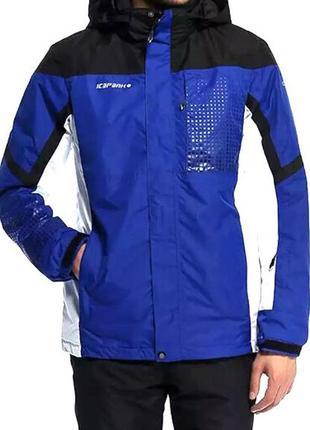 Куртка финского бренда icepeak ,мембрана 3000mm/3000g/m2/24h,раз 50(м)