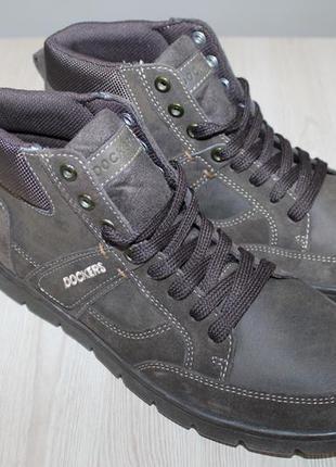 Кожаные ботинки dockers 41 размер