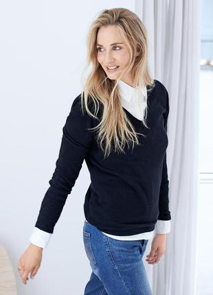 Кашемировый пуловер тсм tchibo