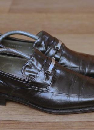 Туфлі люфери класу люкс moreschi. оригінал італія. нат шкіра. стан відмінний 44р