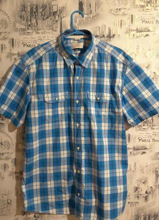 Фирменная рубашка с короткими рукавами, s. oliver, l, германия