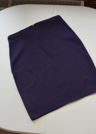 Шерстяная юбка по фигуре