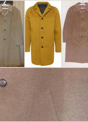 Классическое, деловое пальто, качество люкс, демисезон, реглан, шерсть альпаки, 58 р