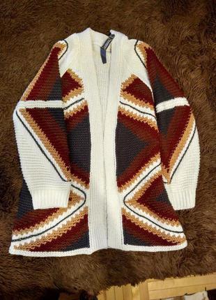Кардиган, накидка, кофта, свитер
