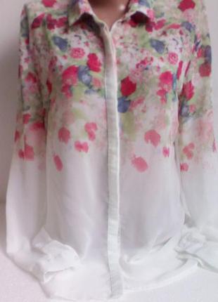 Красивая блуза в цветах от bershka 🌸