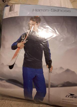 Лыжные термо-штаны мембранные немецкого производства фирма crane 3000 мм
