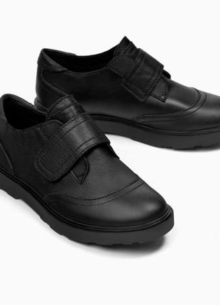 Детские кожаные туфли от zara