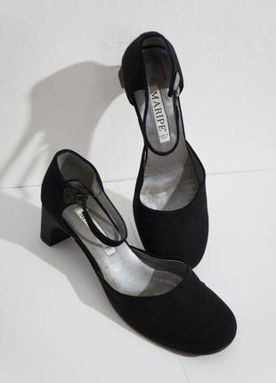 Туфли итальянские тканевые