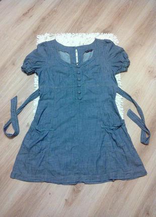 Джинсовое платье miss selfridge