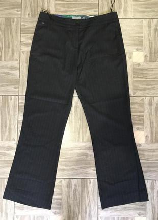 Базовые серые классические брюки!