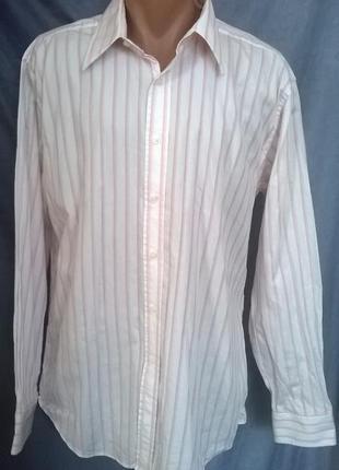 Нарядная  рубашка от stvdio  pure cotton, размер17