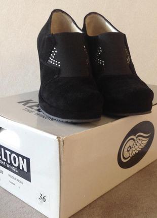 Шикарные туфли ботинки kelton италия оригинал размер 36 по стельке 23 см