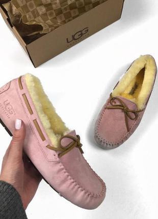 Мокасины ugg dakota pink распродажа! 36 и 38 размер последние дни распродажи!!!