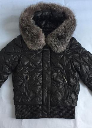 Стильная тёплая женская куртка kuckuck
