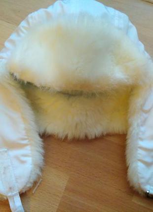 Теплая зимняя шапка на девочку 8-11 лет