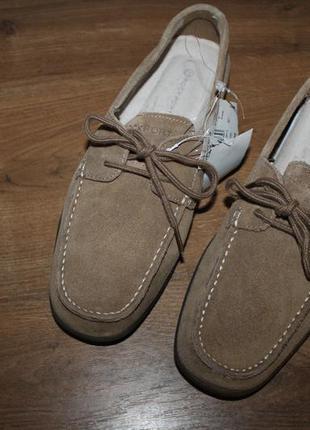 Кожаные мокасины rockport men´s bennett lane 2 eye tie shoes 26.5 см