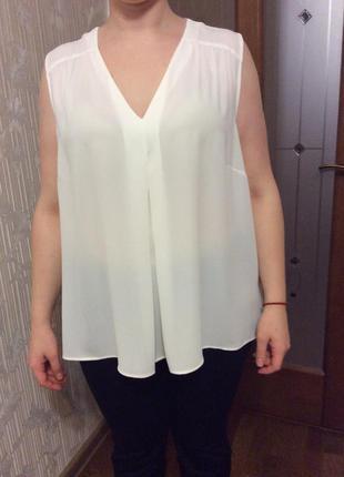 Очень нарядная блузка большой размер