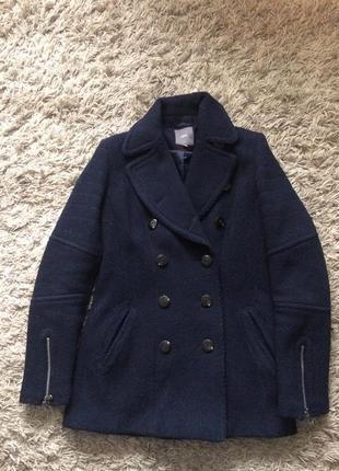 Пальто- косуха из шерсти