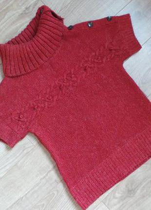 Тёплый свитерок акрил-шерсть s.oliver, р-р  s