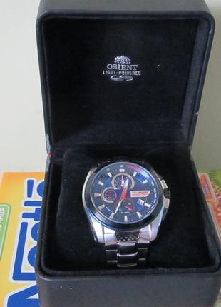 Японские мужские часы orient speedtech chronograf