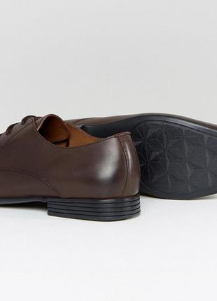 Kg by kurt geiger kendall derby shoes brown leather