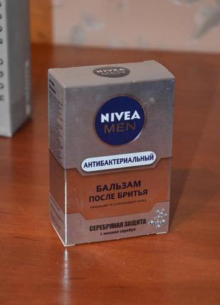 """Лосьон после бритья """"серебряная защита"""" nivea for men silver protect"""